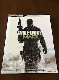 Official MW3 Game Guide Barrie