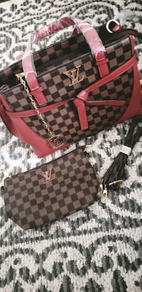 Hand bag with wallet