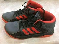 pair of black-and-red Adidas sneakers Raleigh, 27617