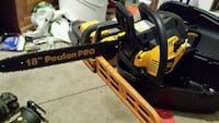 yellow and black Poulan Pro chainsaw Calgary, T2C 1H6