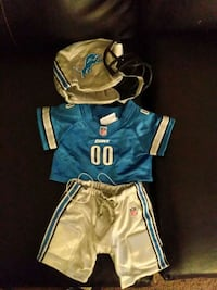 Lions baby out fit