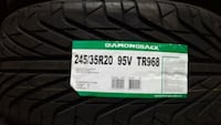 245 35 20 NEW SUMMER TIRES Toronto, M3N 1V9
