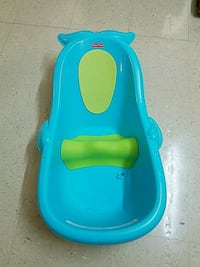 baby's blue and green bather 9 mi