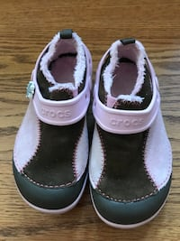 Girls crocs with lining size children's 10 Frederick, 21702