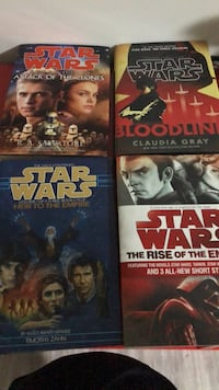 Star Wars hardcover novels Mission, V4S 1A3