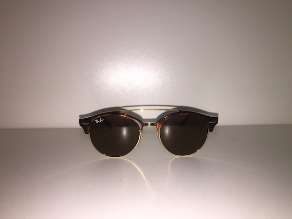 2a349c4bbb67 Used Brown framed ray-ban clubmaster sunglasses for sale in Edmonds - letgo