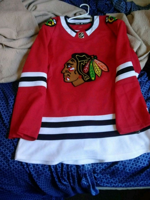 the latest 5a63f bbee1 Blackhawks jersey