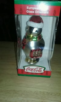 Coca-Cola penguin Christmas ornament  Homeland, 92548
