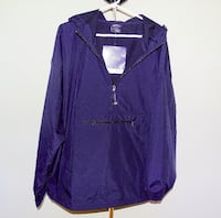 Charles River Pack N Go Pullover Navy Coat  Richmond Hill