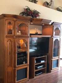 brown wooden cabinet with mirror Payson, 85541