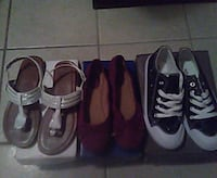 three pairs of assorted shoes McAllen, 78501