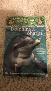 Dolphins and Sharks by Osborne and Boyce book 221 mi