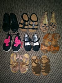 Toddler shoes Sizes 4-9
