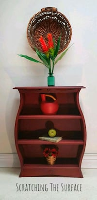 Petite Red and Graphite Shelves  Whitby, L1N 4P4