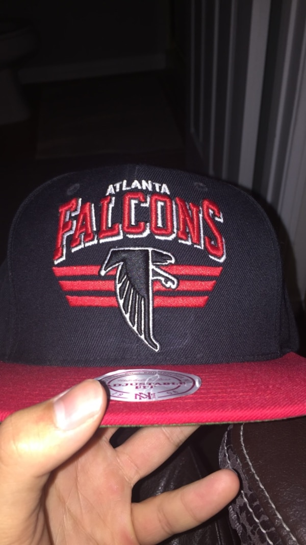 competitive price d687c 4fbfb Atlanta Falcons Mitchell and Ness SnapBack hat