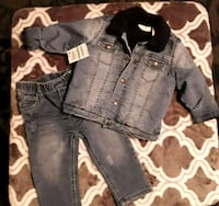Jeans jacket & pants set  Downey, 90242