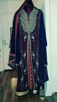 Indian bridal two tone outfit Alexandria, 22304