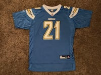 Boy's 18/20 NFL Chargers Football Jersey