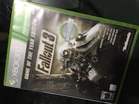 """XBOX 360 - Fallout 3 - """"game of the year edition"""" Burke, 22015"""