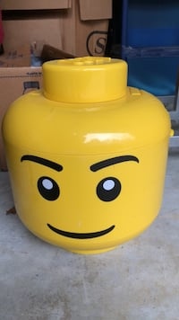 LEGO head lego storage container Columbus, 31907