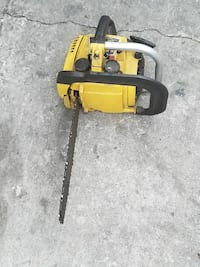"""12"""" chainsaw MCCULLOUGH ONLY 110.00"""