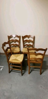 4 Ethan Allen dining chairs