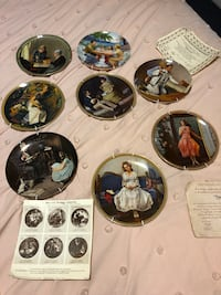 Norman Rockwell Plates Collection Vancouver, V5M 2S9