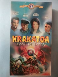 Krakatoa East of Java vhs