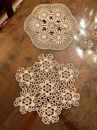 2 Antique Doilies $25