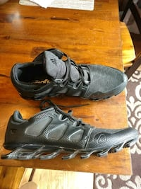 pair of black-and-grey Adidas Springblade running shoes Wellington, 80549
