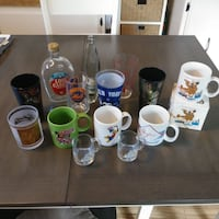 Various Mugs/Glasses Sports, Television, and More Toms River