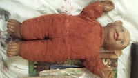 brown bear doll toy
