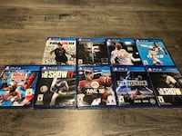 PS4 games new sealed in box  Edmonton, T5T 6V3