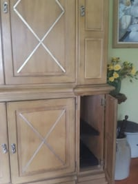 brown wooden cabinet with drawer Wakefield, 01880