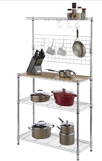 Wire shelving rack (no wood) Surrey, V3S 2V6