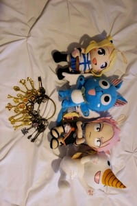 Fairytail plushies and Lucy's Celestial Keys Las Vegas, 89147