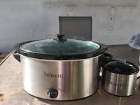 stainless steel Crock-Pot slow cooker Toronto, M2J 2N8