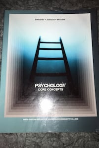 Pearson's Psychology Core concepts | 6th Edition