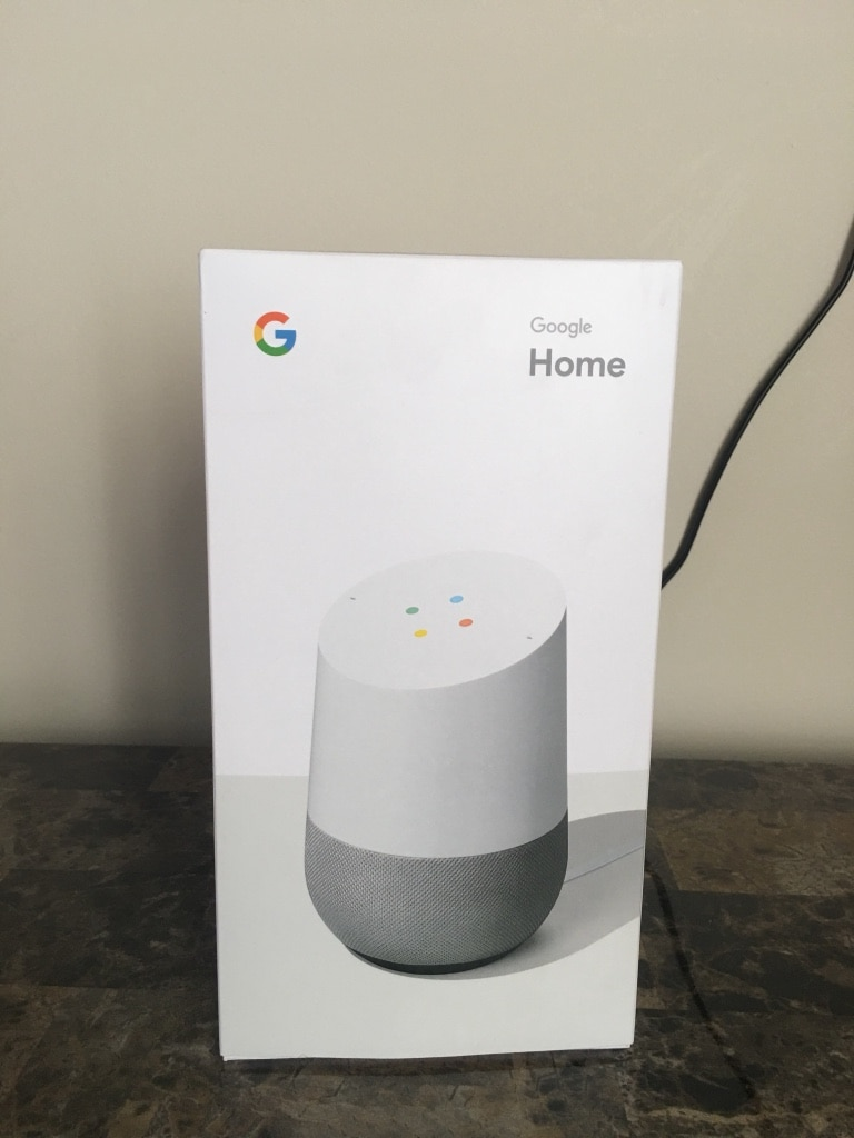 Used, Google Home Voice Activated speaker box for sale  Montréal