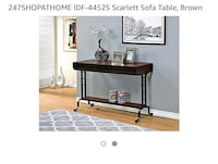 Brand New Sofa Table 161 mi