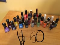 assorted color of nail polish bottles Saskatoon, S7L 6V7