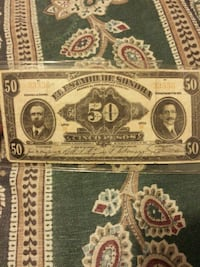 50 denomination banknote South San Francisco, 94080