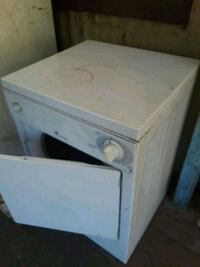 white wooden 2-drawer chest 3673 km