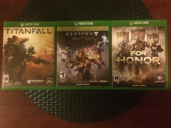 All 3 for $15 (Destiny, For Honor, Titanfall)