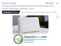 """Brand New"" Memory Foam Pillow Bakersfield, 93309"