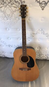 brown and black acoustic guitar Los Angeles, 90019