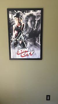 Sin city poster Nashville, 37013