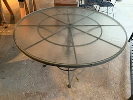 Patio Table (Glass)