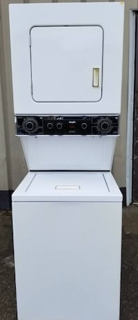 Ingis  Compact Stacked  Washer Dryer, 1 year warranty