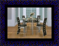 Counter height table with 4 chairs Washington, 20002